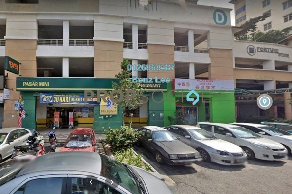 Shop For Sale in Fortune Avenue, Kepong Freehold Unfurnished 0R/0B 1.35m