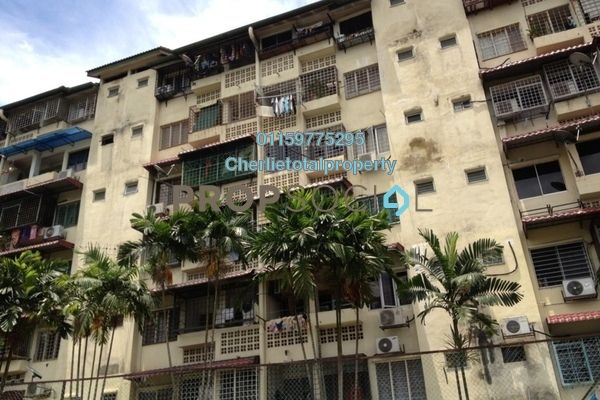 Condominium For Rent in Mutiara Court, Cheras Freehold Unfurnished 3R/2B 850translationmissing:en.pricing.unit
