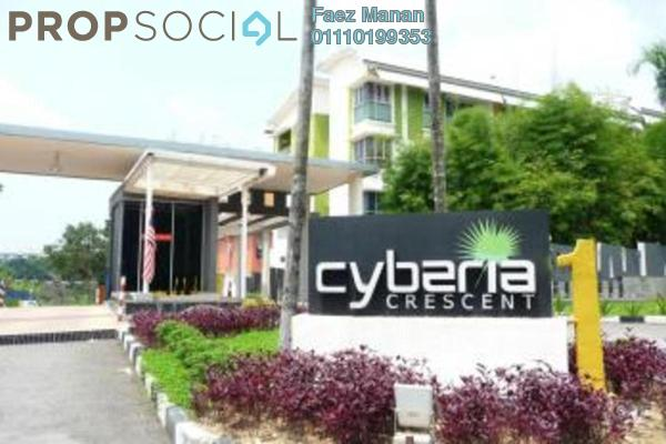 For Sale Townhouse at Cyberia Crescent 1, Cyberjaya Freehold Semi Furnished 3R/3B 400k