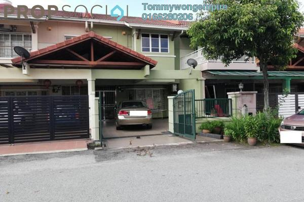Terrace For Sale in Taman Dagang, Ampang Freehold Semi Furnished 4R/3B 938k