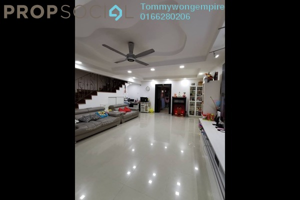 Terrace For Sale in Taman Segar Perdana, Cheras Freehold Fully Furnished 4R/3B 718k