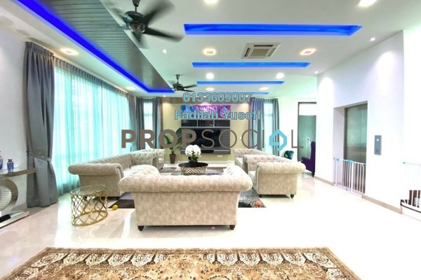 Bungalow For Rent in Aspen Bungalows @ Garden Residence, Cyberjaya Freehold Fully Furnished 9R/8B 14k
