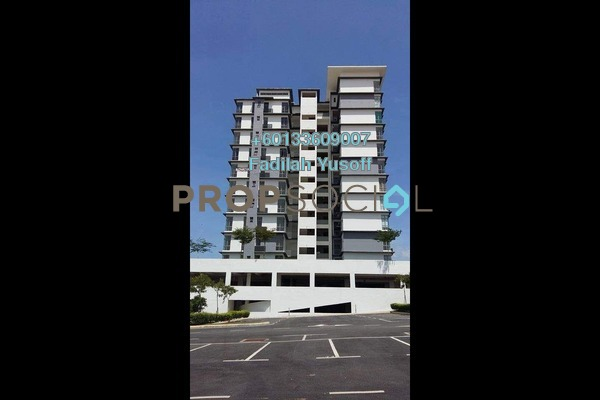 Apartment For Sale in Lakeview Residency, Cyberjaya Freehold Fully Furnished 3R/2B 450k