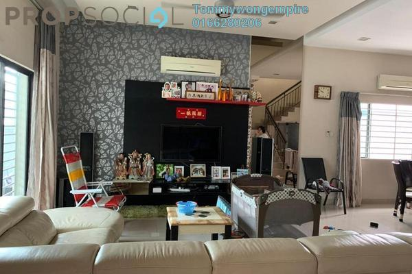 Terrace For Sale in The Peak, Cheras South Freehold Fully Furnished 6R/4B 1.28m