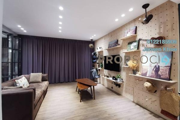 For Sale SoHo/Studio at Trefoil, Setia Alam Freehold Fully Furnished 2R/2B 499k