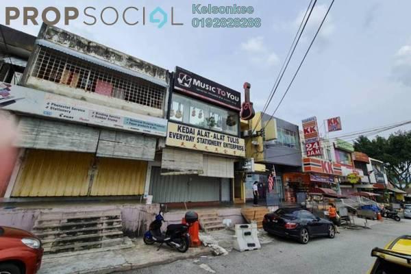 For Rent Shop at Taman Bunga Raya, Setapak Freehold Unfurnished 0R/0B 6.5k
