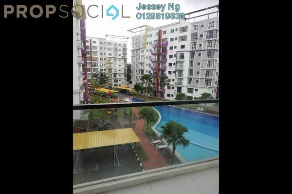 For Rent Condominium at Treetops Residency, Ipoh Freehold Semi Furnished 3R/2B 1.3k