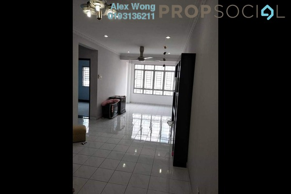 For Rent Apartment at Suria KiPark Damansara, Kepong Freehold Semi Furnished 3R/2B 1.1k