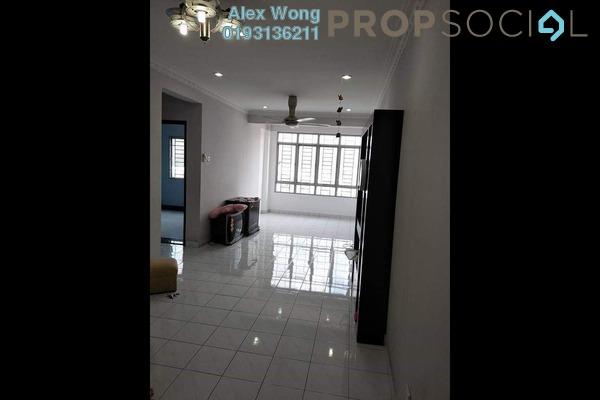 Apartment For Rent in Suria KiPark Damansara, Kepong Freehold semi_furnished 3R/2B 1.1k