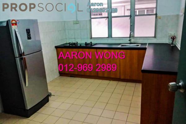 For Rent Condominium at Endah Ria, Sri Petaling Freehold Fully Furnished 3R/2B 1.7k
