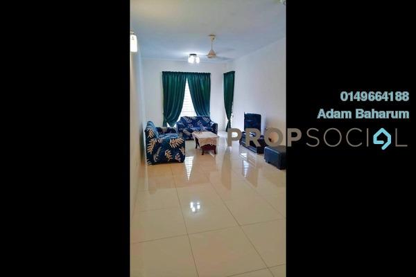 For Rent Condominium at Taman Kajang Sentral, Kajang Freehold Fully Furnished 3R/2B 1.3k