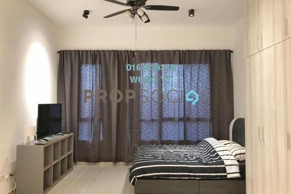 For Rent Condominium at Cube @ One South, Seri Kembangan Freehold Fully Furnished 1R/1B 1.5k