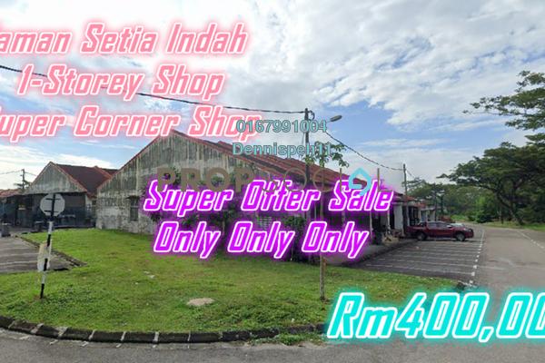 For Sale Shop at Taman Setia Indah, Johor Bahru Freehold Unfurnished 0R/0B 400k