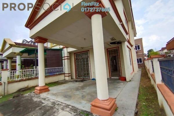 For Sale Terrace at Bukit Bandaraya, Shah Alam Freehold Semi Furnished 4R/3B 500k