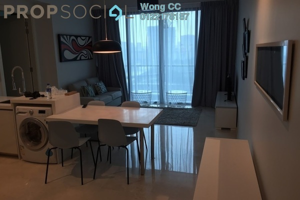 For Rent Condominium at Vogue Suites One @ KL Eco City, Mid Valley City Freehold Fully Furnished 2R/1B 3k