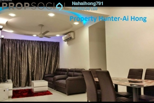 Condominium For Rent in The Golden Triangle, Relau Freehold Fully Furnished 3R/2B 1.5k