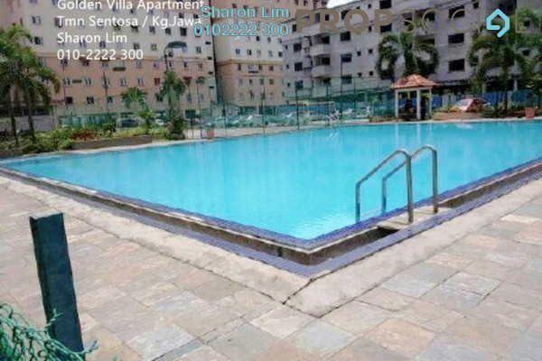 For Rent Apartment at Golden Villa, Klang Freehold Unfurnished 3R/2B 700translationmissing:en.pricing.unit