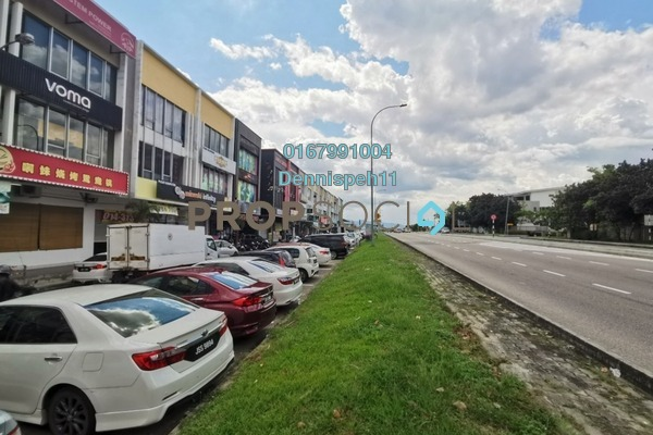 For Rent Shop at Taman Ungku Tun Aminah, Skudai Freehold Unfurnished 0R/0B 3k