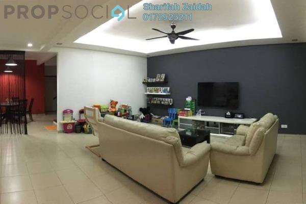 Terrace For Sale in Taman Puncak Kinrara, Bandar Kinrara Freehold Semi Furnished 4R/3B 685k