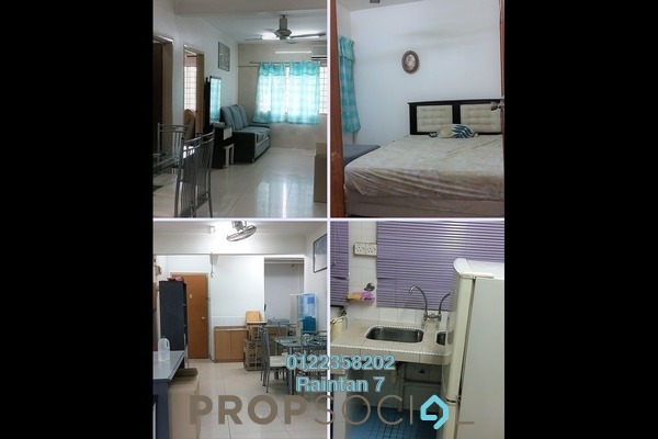 Apartment For Sale in Iris Apartment, Taman Desa Freehold Semi Furnished 2R/1B 298k