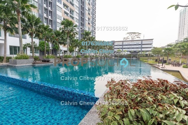 For Sale Apartment at Epic Residences, Johor Bahru Leasehold Unfurnished 3R/0B 264k