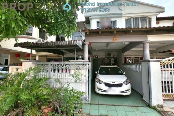 Terrace For Sale in Taman Klang Utama, Klang Freehold semi_furnished 4R/2B 375k