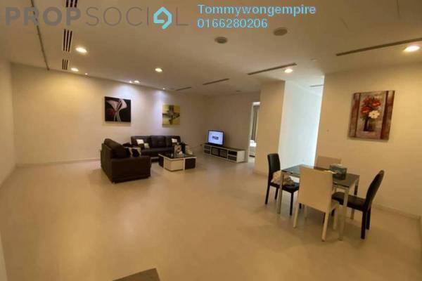 For Rent SoHo/Studio at Binjai Residency, KLCC Freehold Semi Furnished 2R/1B 2k