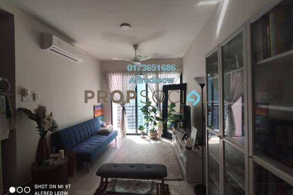 For Rent Condominium at KL Traders Square, Kuala Lumpur Freehold Semi Furnished 3R/2B 1.5k