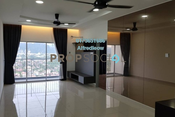 For Rent Condominium at Zeta Deskye Residence, Kuala Lumpur Freehold Semi Furnished 3R/2B 1.5k