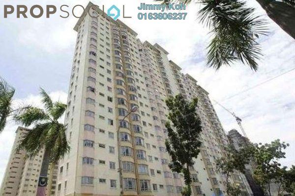 Condominium For Rent in Endah Regal, Sri Petaling Freehold Semi Furnished 3R/2B 1.15k