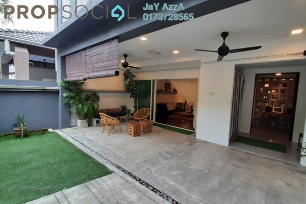 Terrace For Sale in Taman Hillview, Ukay Freehold Fully Furnished 4R/5B 1.1m