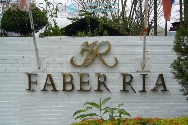 Condominium For Rent in Faber Ria, Taman Desa Freehold Fully Furnished 2R/2B 1.3k