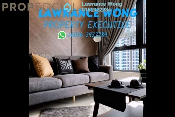 For Rent Condominium at Novum, Bangsar South Freehold Fully Furnished 2R/2B 3.5k