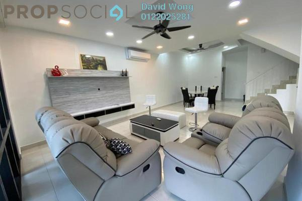 For Rent Terrace at Hillpark 3, Semenyih Freehold Semi Furnished 4R/3B 1.8k