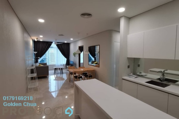 For Rent Apartment at Sky Suites @ KLCC, KLCC Freehold Fully Furnished 3R/2B 2.2k