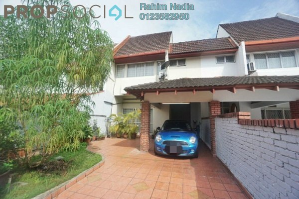 For Rent Terrace at The Plaza Condominium, TTDI Freehold Semi Furnished 4R/3B 3.5k