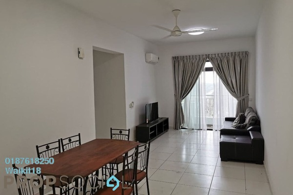 For Rent Apartment at Sky View, Bukit Indah Freehold Fully Furnished 2R/2B 1.3k