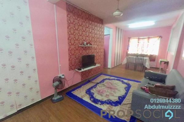 For Sale Apartment at Section 7, Shah Alam Freehold Unfurnished 3R/2B 180k