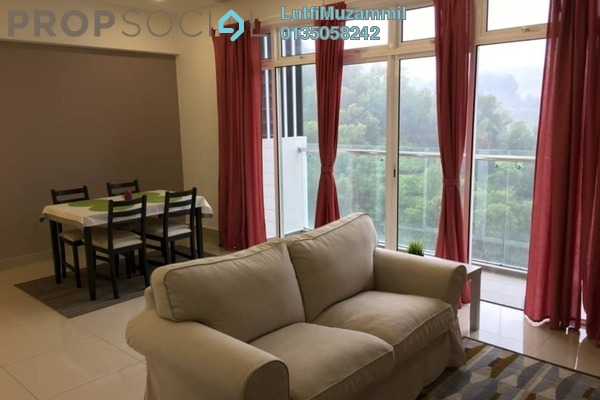 For Rent Serviced Residence at Dwiputra Residences, Putrajaya Freehold Fully Furnished 3R/3B 2.4k