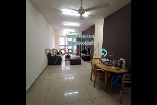 Condominium For Sale in Section 4, Bandar Mahkota Cheras Freehold Fully Furnished 3R/2B 330k