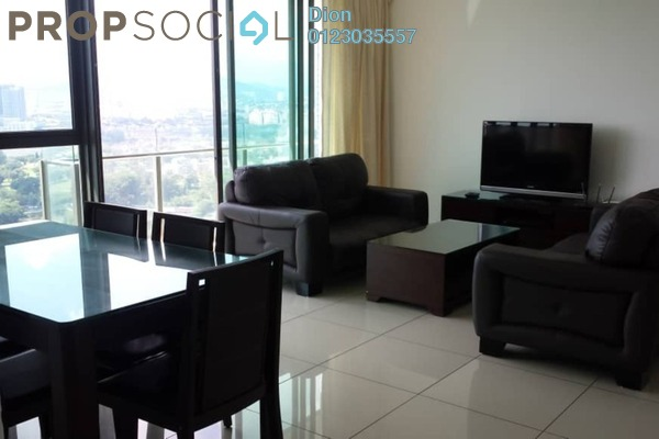 For Rent Condominium at Setia Sky Residences, KLCC Freehold Fully Furnished 3R/2B 3.5k