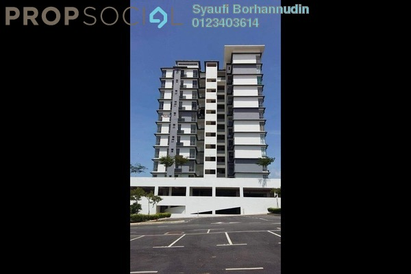 For Sale Condominium at Lakeview Residency, Cyberjaya Freehold Unfurnished 3R/3B 490k