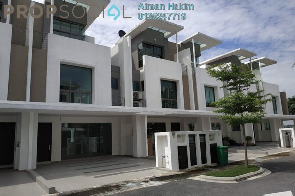 Terrace For Sale in Lake Point Residence, Cyberjaya Freehold Unfurnished 5R/5B 950k