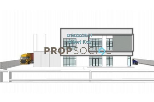 Factory For Sale in Bandar Puncak Alam, Kuala Selangor Leasehold Unfurnished 0R/0B 6.1m