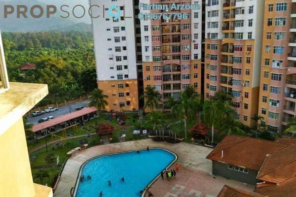 For Rent Apartment at Sri Palma Villa Condominium, Mantin Freehold Unfurnished 3R/3B 550translationmissing:en.pricing.unit