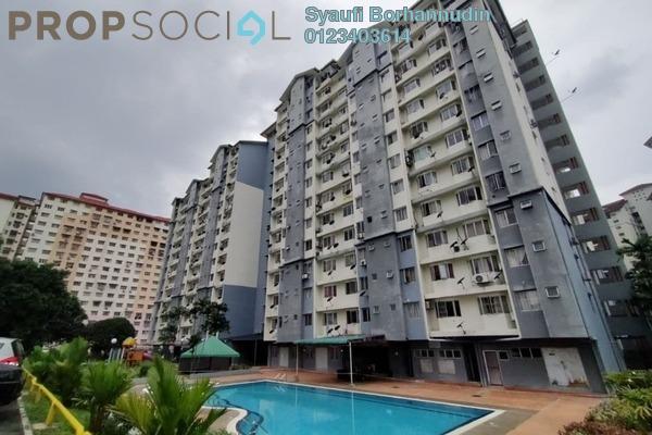 Apartment For Sale in Lestari Apartment, Bandar Sri Permaisuri Freehold Unfurnished 3R/2B 325k