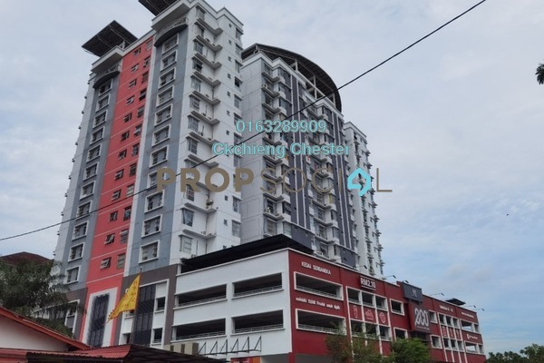 For Rent Condominium at Calisa Residences, Puchong Freehold Unfurnished 3R/2B 900translationmissing:en.pricing.unit