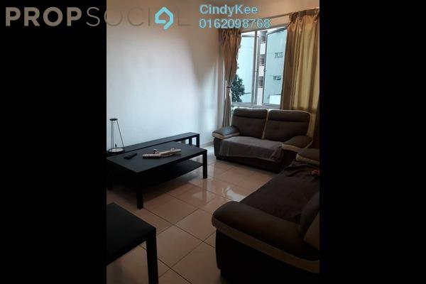 Condominium For Rent in Casa Tiara, Subang Jaya Freehold Fully Furnished 3R/2B 1.7k