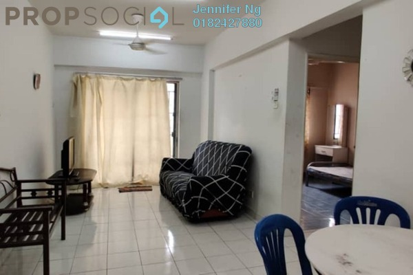 For Rent Condominium at Arena Green, Bukit Jalil Freehold Fully Furnished 2R/2B 1.2k
