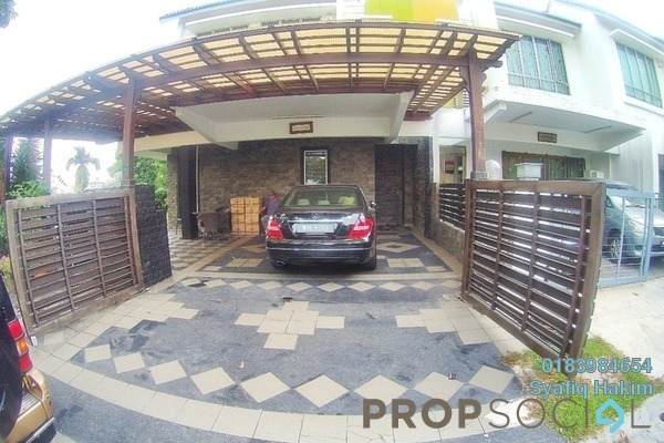 Terrace For Sale in The Oasis, Cheras South Freehold Semi Furnished 6R/5B 1.75m